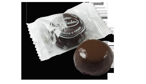 Mazapán de soto cubierto de chocolate bolsa de 500 grs.