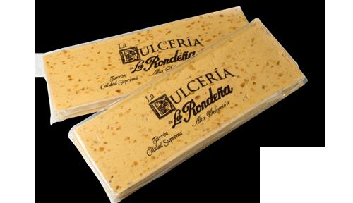 """Turrón blando tableta de 500 grs. """"Serie oro"""""""