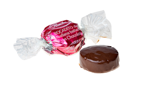 Bocadito de avellana con chocolate bolsa de 500 grs.