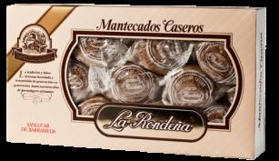 Mantecado casero estuche de 800 grs.